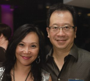 Photo of Associate Professor Anthony Kwan and wife